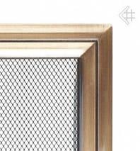 Вентиляционная решетка для камина KRATKI Oskar 17х49 см, фото 3