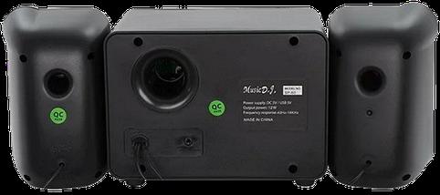 Колонки для ПК SP-60 с LED подсветкой 7 цветов - Компьютерные колонки с сабвуфером для ноутбука, компьютера, фото 3