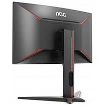 "Монитор AOC 27"" C27G1 VA Black/Red Curved; 1920х1080 (144 Гц), 250 кд/м2, 1 мс, DisplayPort, 2xHDMI, D-Sub, фото 3"