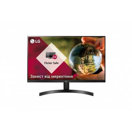 """Монитор LG 23.8"""" 24MK600M-B IPS Black; 1920x1080, 250 кд/м2, 5 мс, 2хHDMI, D-Sub, фото 2"""