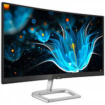 "Монитор Philips 23.6"" 248E9QHSB/00 VA Black/Silver Curved; 1920x1080, 4 мс, 250 кд/м2, D-Sub, HDMI, фото 2"