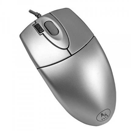 Мышь A4Tech OP-620D Silver USB, фото 2