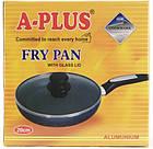 Сковородка с тефлоновым покрытие A-plus 26 см с крышкой, Тефлоновая сковородка, фото 2