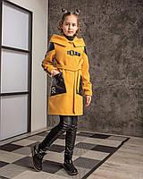 Детское демисезонное кашемировое пальто