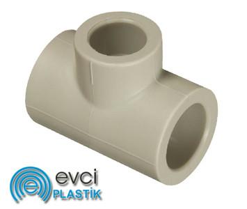 Тройник Evci Plastik 40х32х40 полипропиленовый
