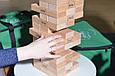 *Настільна дерев'яна гра Mega Giant Jenga Дженга TM Holiday (висота вежі 72 см), фото 6