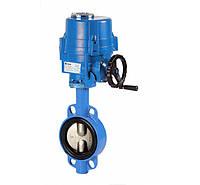 Клапан «баттерфляй» с электроприводом (опция) 2103 10 (GENEBRE Испания)