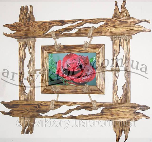 Рамка для фото, вишивки, картин з бісеру або іншої творчості