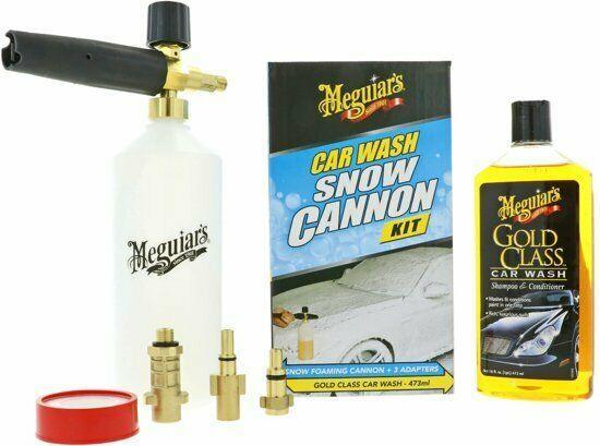 Пено комплект с шампунем  - Meguiar Gold Calss Snow Foam Cannon Kit 473 мл. (G192000EU)