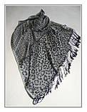 Шарф Fendi шовк вовна, фото 3