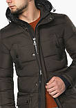 Braggart Dress Code 32045 | Мужская зимняя куртка цвета кофе раз-3ХЛ, фото 7
