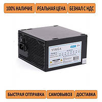 Блок питания для ПК Vinga 450W ATX кулер 120мм черный (PSU-450-12 black)