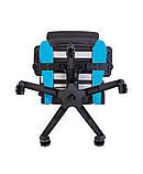 Геймерское кресло Hexter (Хекстер) RC R4D TILT MB70 01 black/blue, фото 5