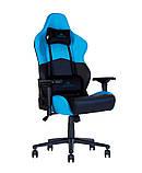 Геймерское кресло Hexter (Хекстер) RC R4D TILT MB70 01 black/blue, фото 2