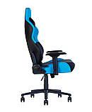 Геймерское кресло Hexter (Хекстер) RC R4D TILT MB70 01 black/blue, фото 3