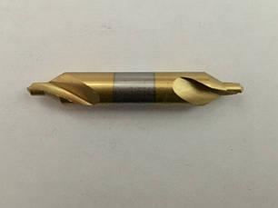 Сверло центровочное  прецизионное HSS А2.0*5*39, фото 2