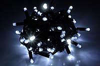 Гирлянда уличная LUMION нить 100LED 10m 230V цвет белый холодный, мерцают 10LED IP44 EN