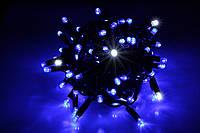 Гирлянда уличная LUMION нить 100LED 10m 230V цвет синий, мерцают 10LED IP44 EN