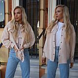 Рубашка женская вельветовая 42-46, фото 3