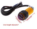 Оптичний датчик 10-30 см 10-30В NPN NO, фото 4