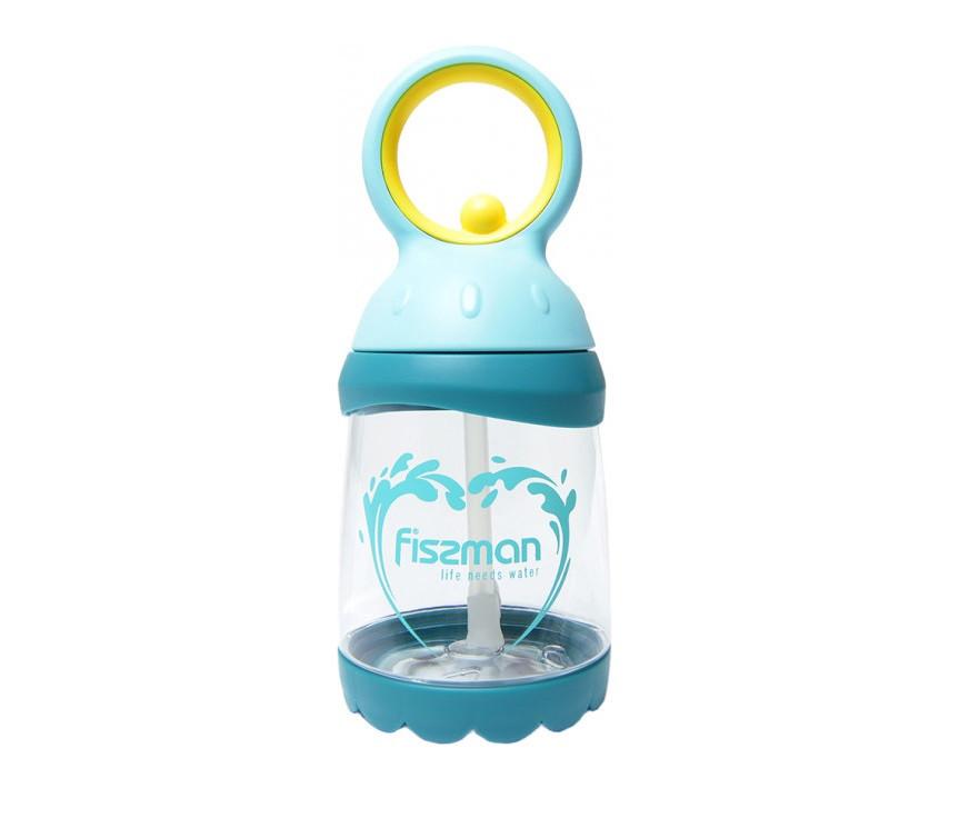 Бутылка для воды с соломинкой Fissman 260 мл 6855