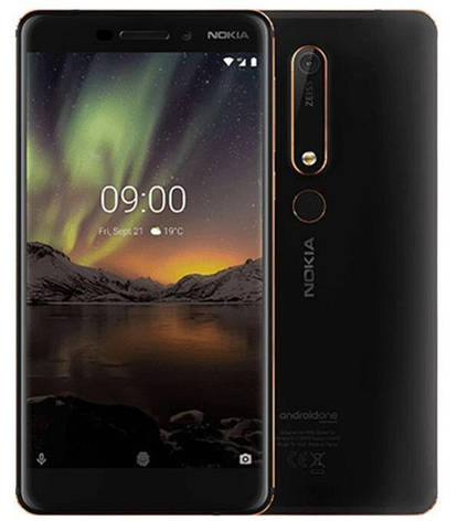 Nokia 6.1 TA-1043 3/32Gb black, фото 2