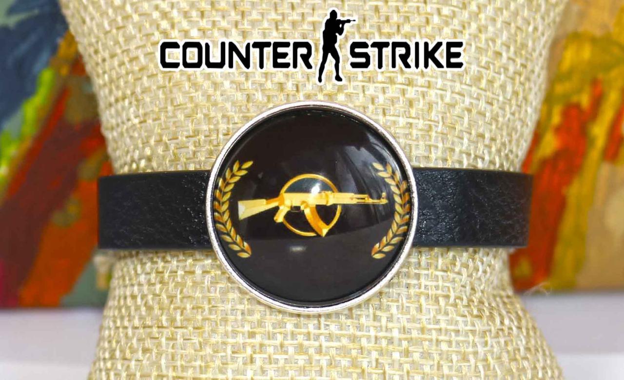 Браслет с символикой COUNTER-STRIKE CS:GO