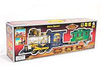 Детский паровоз 2412 на батарейке