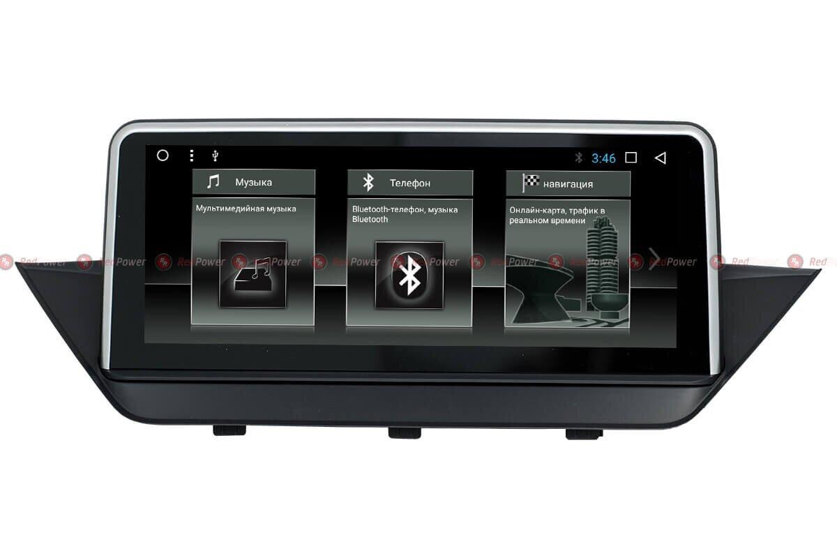 Штатная автомагнитола RedPower 51099 IPS для BMW X1 E84 (2009-2015) на Android 8.1 (Oreo)