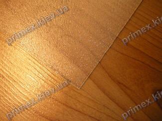 Подрезка защитного коврика под кресло 4