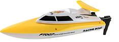 Катер на радиоуправлении Racing Boat FT007 2.4GHz (желтый)