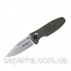 Нож складной Ganzo G702 (черный, зеленый, желтый), фото 2