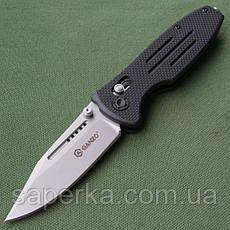 Нож складной Ganzo G702 (черный, зеленый, желтый), фото 3