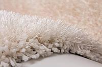 Ковер ворсистый Индийский однотонный белый, фото 1