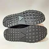 41,43, р. Мужские туфли весенние из эко-кожи прошитые Львовские Черный, фото 7