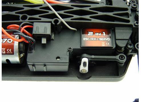 Шорт на радиоуправлении 1:18 Tyronno E18SC Brushed (красный), фото 2