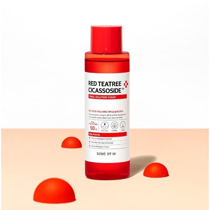 Тонер для чутливої і проблемної шкіри By Some Mi Red Tea Tree Cicassoside Final Solution Toner 150 мл
