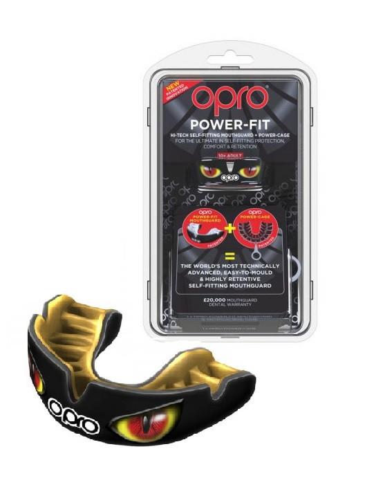 Капа OPRO Power-Fit Hi-Tech Self-Fitting Aggression-Eyes (art002270003)