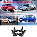 Брызговики MGC Volkswagen GOLF 4, BORA (Фольксваген Гольф) 1997-2004 г.в. комплект 4 шт 1J0075111, 1J0075101, фото 3
