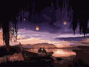 """Картина за номерами Art Craft """"Закохані під небом"""" 40х50см 10213-AC"""