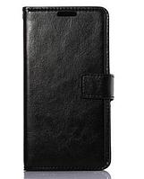 [ Чехол-книжка LG G3 MINI D722 D725 ] Кожаный чехол-книжка для смартфона черный