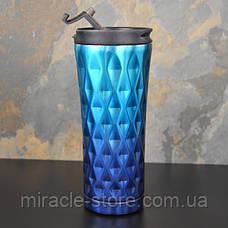 Термокружка термостакан Starbucks Градиент хамелеон термос для напитков 500 мл, фото 3