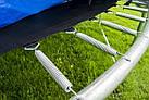 Батут FunFit 183 см + сетка до 90 кг для взрослых и детей профессиональный, фото 4