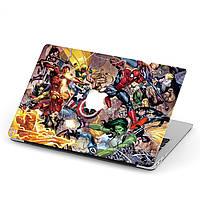 Чехол пластиковый для Apple MacBook Pro / Air Мстители (The Avengers) макбук про case hard cover, фото 1