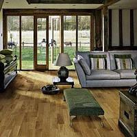 Паркетная доска  Polarwood Дуб Cottage лак, дуб котедж лак, 3-х полосный