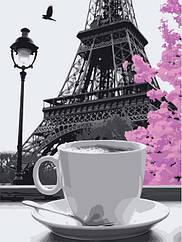"""Картина за номерами Art Craft """"Кава в Парижі"""" 40х50см, 11208-AC"""