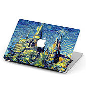 Чехол пластиковый для Apple MacBook Pro / Air Ван Гог (van Gogh) макбук про case hard cover