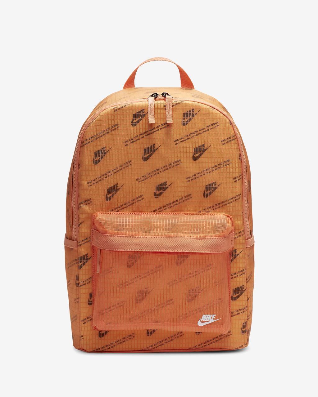 Рюкзак Nike Heritage 2.0 Backpack CK7444-884 Помаранчевий