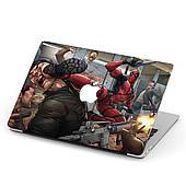 Чехол пластиковый для Apple MacBook Pro / Air Дедпул (Deadpool) макбук про case hard cover