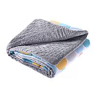 Cotton Living - Детское одеяло Dots/Silver